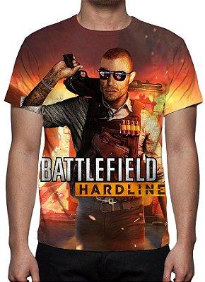 BATTLEFIELD - Hardline - Camiseta de games