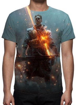 BATTLEFIELD 1 - They Shaw - Camiseta de games