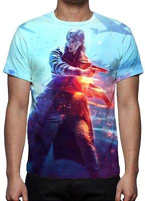 BATTLEFIELD 5 - Modelo 1 - Camiseta de games