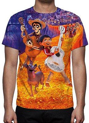 VIVA ! A VIDA É UMA FESTA - Modelo 1 - Camiseta de Desenhos