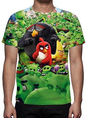 ANGRY BIRDS - O Filme - Camiseta de Animações