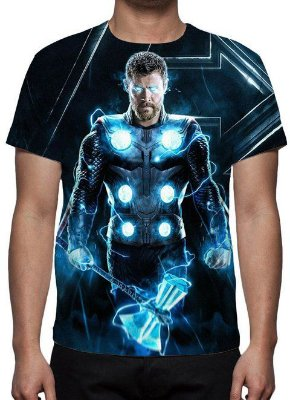 MARVEL - Vingadores Ultimato Thor StormBreaker - Camiseta de Cinema
