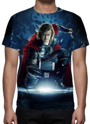 MARVEL - Thor Modelo 2 - Camiseta de Cinema