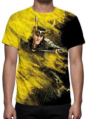 MARVEL - Thor Ragnarok Loki - Camiseta de Cinema