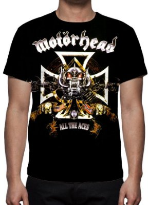 MOTORHEAD - All the Aces - Camiseta de Rock