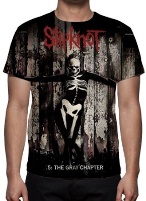 SLIPKNOT - The Gray Chapter - Camiseta de Rock