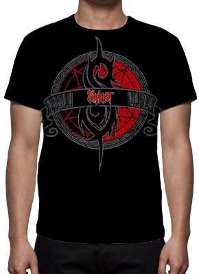 SLIPKNOT - Logo - Camiseta de Rock