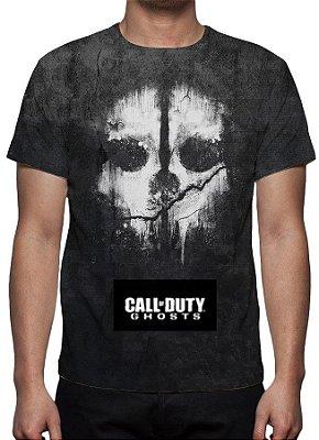 CALL OF DUTY - Ghosts - Camiseta de Games