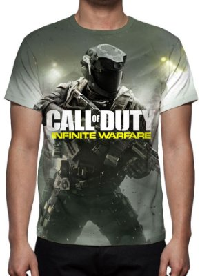 CALL OF DUTY - Infinite Warfare Modelo 2 - Camiseta de Games