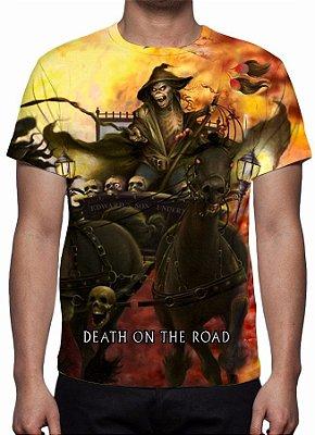 IRON MAIDEN - Death on the Road - Camiseta de Rock