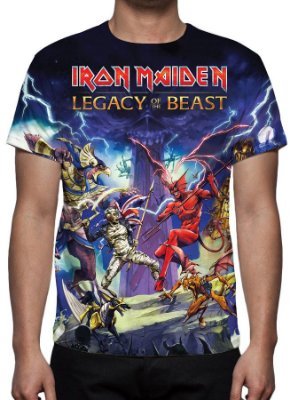 IRON MAIDEN - Lagacy of the Beast - Camiseta de Rock