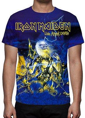 IRON MAIDEN - Live After Death - Camiseta de Rock