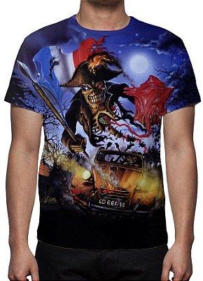 IRON MAIDEN - Live in Paris - Camiseta de Rock