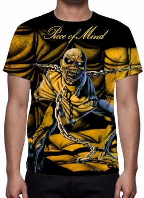 IRON MAIDEN - Piece of Mind - Camiseta de Rock