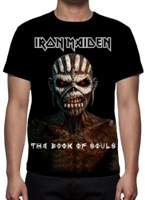 IRON MAIDEN - The Book of Souls - Camiseta de Rock