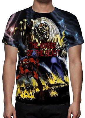 IRON MAIDEN - The Number of The Beast Modelo 1 - Camiseta de Rock