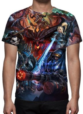 HEROES OF STORM - Modelo 1 - Camiseta de Games