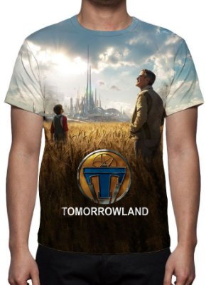 TOMORROWLAND - Um Lugar Onde Nada é Impossivel - Camiseta de Cinema