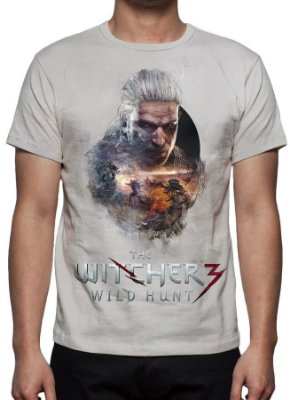 WITCHER 3, The - Wild Hunt - Camiseta de Games