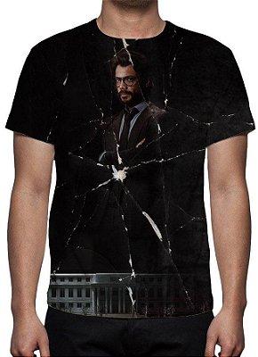 LA CASA DE PAPEL - Professor - Camiseta de Séries