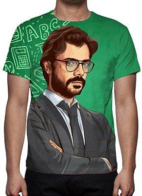 LA CASA DE PAPEL - Professor Verde - Camiseta de Séries