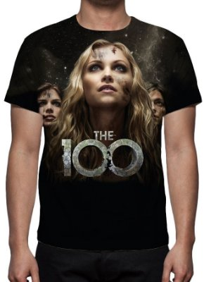 100, The - Modelo 2 - Camiseta de Séries