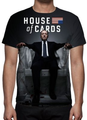 HOUSE OF CARDS - Camiseta de Séries