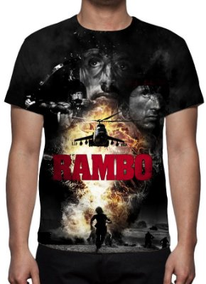 RAMBO II - Camiseta de Cinema