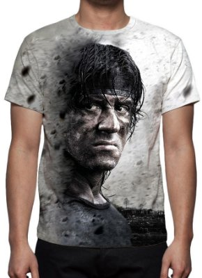 RAMBO IV - Camiseta de Cinema