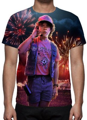STRANGER THINGS - 3a Temporada Dustin - Camiseta de Séries