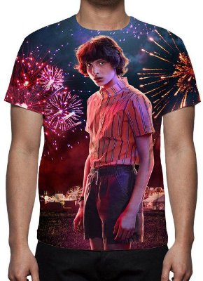 STRANGER THINGS - 3a Temporada Mike - Camiseta de Séries
