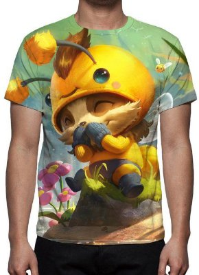 LEAGUE OF LEGENDS - Teemo Abelheemo - Camiseta de Games