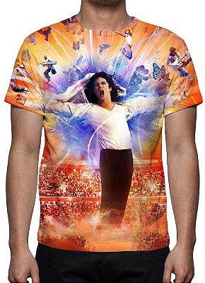MICHAEL JACKSON - Modelo 10 - Camiseta de Musicas