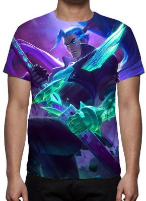 LEAGUE OF LEGENDS - yasuo Chefão - Camiseta de Games