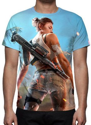 FREE FIRE - Camiseta de Games