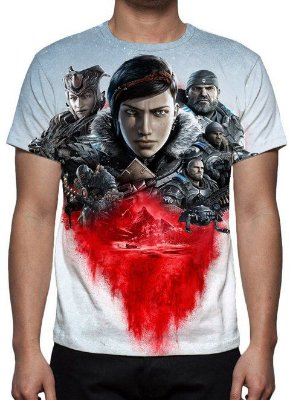 GEARS OF WAR 5 - Camiseta de Games