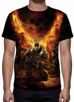 GEARS OF WAR - Camiseta de Games