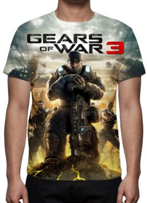 GEARS OF WAR 3 - Camiseta de Games