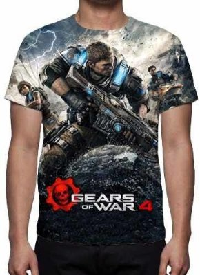 GEARS OF WAR 4 - Camiseta de Games
