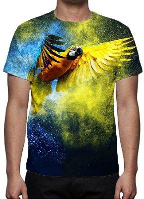 ANIMAIS - Papagaio - Camiseta Variada