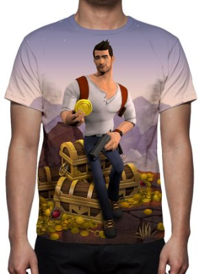 UNCHARTED - Fortune Hunter - camiseta de games