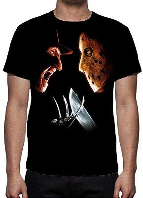 SEXTA FEIRA 13 - Freddy versus Jason - Camiseta de Cinema