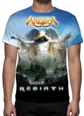 ANGRA - Rebirth - Camiseta de Rock