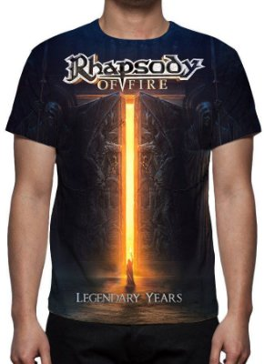 DUPLICADO - RHAPSODY OF FIRE - Into the legends - Camiseta de Rock