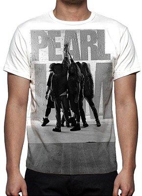 PEARL JAM - Branca - Camiseta de Rock