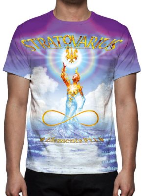 STRATOVARIUS - Elements Part 1 - Camiseta de Rock