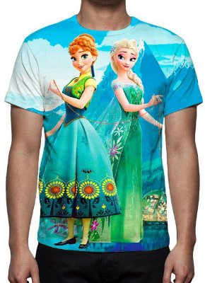 FROZEN 2 - Modelo 1 - Camiseta de Animações