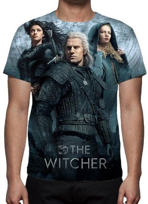 WITCHER,THE - Netflix - Camiseta de Séries