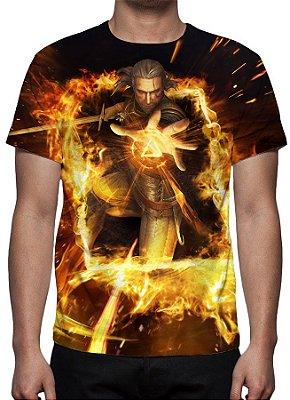 WITCHER , The - GWENT - Geralt de Rivia - Camiseta de Games