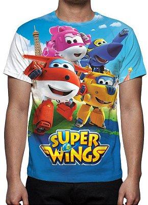 SUPER WNGS - Camiseta de Desenhos